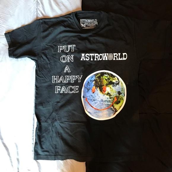 31101b43c65b Shirts | Travis Scott Astroworld Official Tshirt | Poshmark